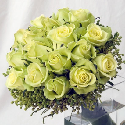 Niagara Florist, Wedding Flowers, Green