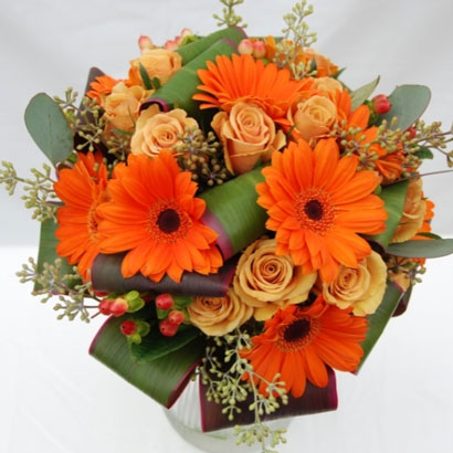 Wedding Flowers, Niagara Florists, Orange