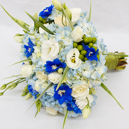 Niagara Florist, Wedding Flowers, Blue