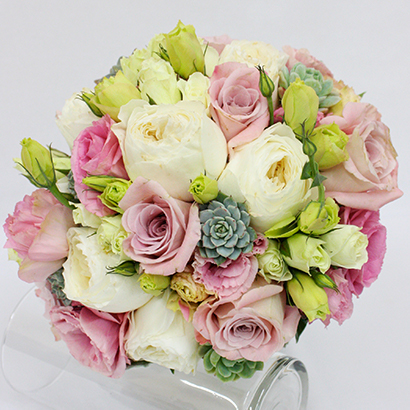 Wedding Flowers, Niagara Florists, Pink