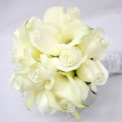 Wedding Flowers, Niagara Florists, White